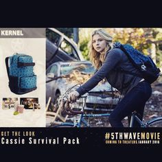At kernel.com. The 5th Wave Series, Wave Quotes, The Fifth Wave, Get The Look, Fangirl, Backpack, Films, Waves, Fandoms