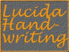 lucida handwriting Handwriting, Tattoo Quotes, Fonts, Menu, Wedding Ideas, Tattoos, Calligraphy, Designer Fonts, Menu Board Design