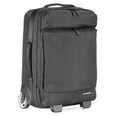 The Jet 38L Trolley is a cabin bag that blends hard luggage protection with handy briefcase features. Convenient front pockets provide easy access to necessities and technology in-flight and at security.