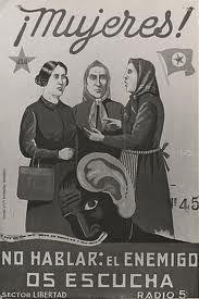 Mujeres de la Guerra Civil española, dieron un ejemplo en la defensa de la Libertad.