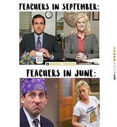 This hilarious dump of the Best Teacher Memes goes out to all my teacher buds, especially my wife. She's an elementary school music teacher so she sees every ro Funny School Memes, Funny Memes, Hilarious, School Quotes, Middle School Memes, Memes Humor, Funny Quotes, Funny Office Memes, College Memes