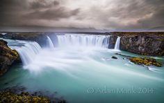 Godafoss waterfall of the Gods, Iceland