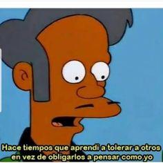 Speaking of Apu references. Simpsons Frases, Simpsons Meme, The Simpsons, Daria Memes, Hipster Jokes, Simpson Tumblr, Mood Gif, Current Mood Meme, Lisa Simpson