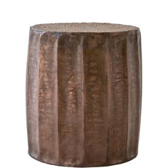Burnt Copper Stool - Small For Sale