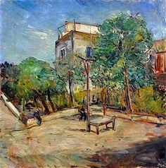 Guido Casciaro (Napoli 1900 -1963)  Strada di Napoli, 1934