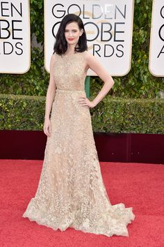 Pin for Later: Don't Miss a Single Sexy Look From the Golden Globes Eva Green