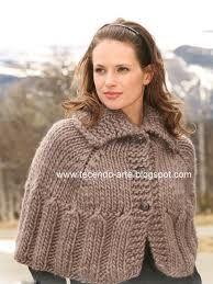 Resultado de imagem para ponchos em tricot
