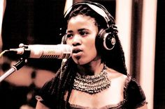 Love her in the studio. People Of The World, Good Music, Black Women, Inspire, Hair Styles, Hot, Inspiration, Beauty, Hair Plait Styles