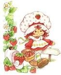 Strawberry Shortcake - I had writing paper & envelopes with her on. LoVe!