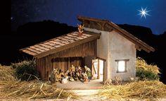 Die Alpenkrippe ist ein beliebter Hintergrund für die Geburtsstunde Jesu: Wie Sie eine typisch alpenländische Krippe bauen, lesen Sie hier