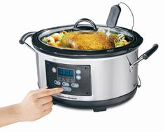Hamilton Beach programmable slow cookers adapt to your cooking needs and hectic schedules by automatically adjusting to keep your meal warm and prevent mushy overcooking.
