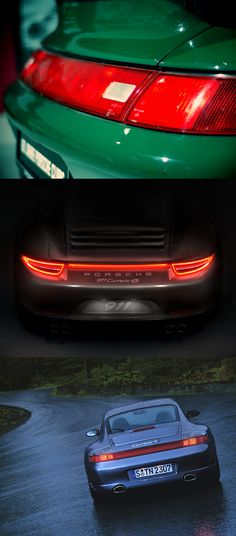 The taillight strip of the all new 911 Carrera 4. Take part: http://pinterest.com/porsche/the-taillight-strip-of-the-all-new-911-carrera-4/
