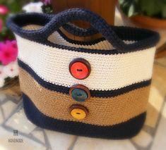 Crochet bag - horgolt táska