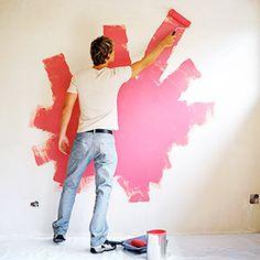 Znalezione obrazy dla zapytania painting wall with markers