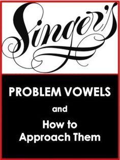 MUSIC: Choir/Vocal Problem Vowels FREE download