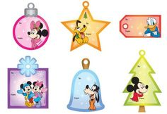 Free Disney Christmas printable gift tags!!! How cute are THESE?!
