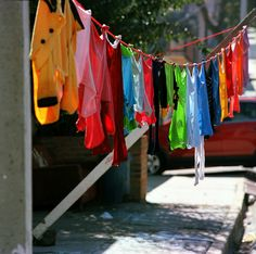 .Laundry hanging on a line - one of the simple things that I think is picturesque
