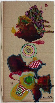 Pop Art Street Brut Singulier Dessin Original Nea Borgel Bouche Pieds Oeil Sexy