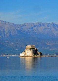 #Bourtzi fortress in #Nafplio