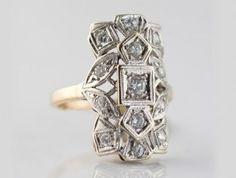.85 Diamond 14 Karat Gold $2,100.00, I-0000 #14 karat gold #westchestergold #designer rings #fashion rings #estate