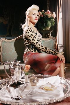 Gwen Stefani - 'Cool' video - love the hair and wardrobe. Adorbs.