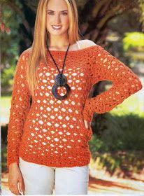Patrones de ganchillo: Crochet Patterns gratis para 3 encantadores Jerseys - Otoño Especial