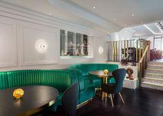 Bronte restaurant interiors by Tom Dixon