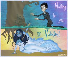 Emily and Victor Corpse Bride | Corpse Bride - waiting for you by Lilostitchfan
