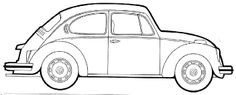 Image result for line drawing classic car