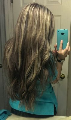 ... highlights long pretty blended lowlights new fall 2013 curls curly