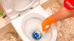 Чистка УНИТАЗА. Как отмыть туалет от налета и ржавчины. Уборка с Nataly ...