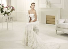 Pronovias wedding dresses truly captures the bride on her special day. Pronovias wedding dresses flatter the figure with styles perfect for romantic brides. Bridal Dresses 2015, Wedding Dress 2013, Pronovias Wedding Dress, Wedding Dress Train, Bridal Gowns, Wedding Gowns, Lace Wedding, Dresses 2013, Bridal Lace