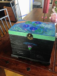 Suitcase, Objects, Arts And Crafts, My Arts, Painting, Craft Items, Painting Art, Paintings, Suitcases