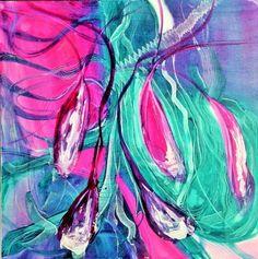 La Magenta . Aquacryl . Original . 70/70 Lw/oR . ©Gabriele Dericks