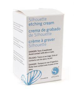 Silhouette Etching Cream
