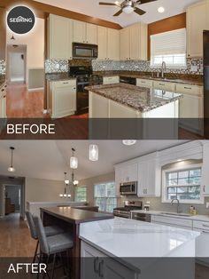 Justin & Carina's Kitchen Before & After Pictures  Kitchens Fascinating Bathroom Remodeling Naperville Inspiration Design