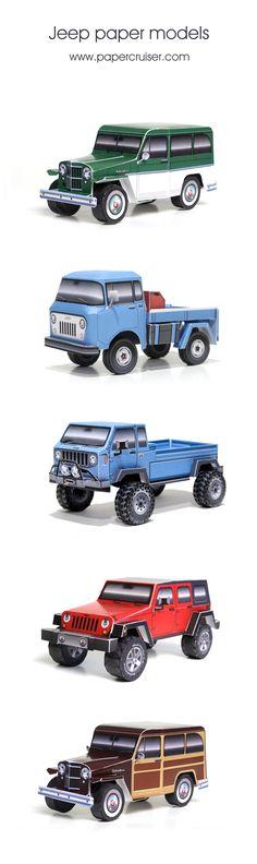 Jeeps | papercruiser.com