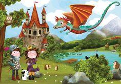 kinderfeestje uitnodiging draak - Google zoeken