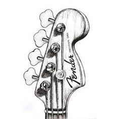 "44 likerklikk, 1 kommentarer – Bassist Girl (@typowy_basista) på Instagram: ""#bass#guitar#Fender#JazzBass#Squier#strings#picture#slapping#popping#tapping#music#musician#learning#playing#SheetMusic#concert#bassist#world#sketch#black#white#I#love#Fender❤✏✔"""