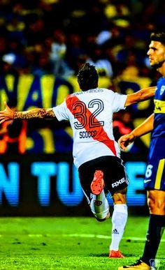 """Nacho"" Scocco vs Boca Junior. Supercopa Argentina 2018 Messi, Carp, Nachos, Football Players, Metallica, My Images, Soccer, Pictures, Bbc"