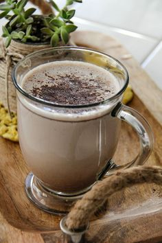 A boozy hot chocolate is the perfect way to end the night. #donthesitaste #ad