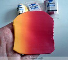 How to blend 2 fondant colours (using a pasta maker!) - Genius!!