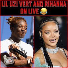 """Rap/Hip-Hop News 📺 on Instagram: """"#LilUziVert and #Rihanna on ig live together 😂"""" Living Together, Hip Hop News, Soundtrack To My Life, Lil Uzi Vert, Rihanna, Rap, Live, Instagram, Wraps"""