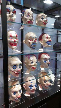 Joker gang masks - Batman: The Dark Knight - San Diego Comic-Con 2014
