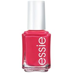 essie nail color watermelon ($8.50) ❤ liked on Polyvore featuring beauty products, nail care, nail polish, makeup, beauty, nails, essie, watermelon, essie nail polish and essie nail color