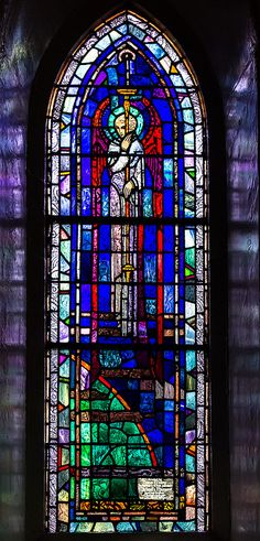 the windows are by Harry Clarke
