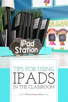 These iPad management tips and training tools will help elementary school teachers transform the way iPads are managed, used, and organized in the classroom. Includes printable iPad contracts, iPad licences, and iPad training checklists. Technology Management, Teaching Technology, Technology Tools, Educational Technology, Management Tips, Technology Lessons, Kindergarten Classroom, Classroom Activities, Classroom Organization