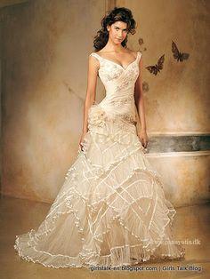 تصميمات الاسبانية لفساتين زفاف من ايرى برشلونة Designs Spanish ...