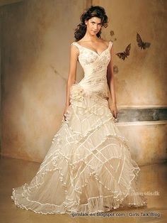 traditional spanish wedding dress