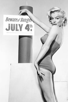 765a5f36c9 Marilyn Monroe - photographed in Promo for July 4